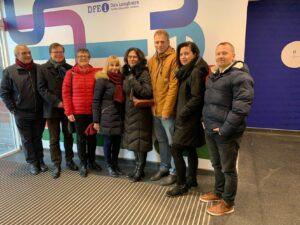 HKHK ÄT osakond külastas Dun Laoghaire Further Education Institute'i Dublinis